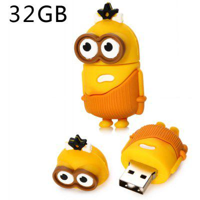 Pen Drive 32GB USB 2.0 com Tipo de Big Eyes Bee-do