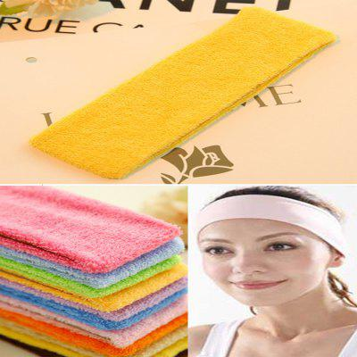 Women Elastic Yoga Headband Sweatband for Fitness