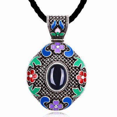 N014-A Women National Style Necklace