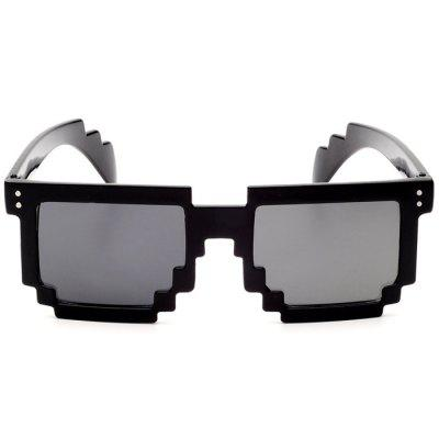 Фото Unisex Anti-UV Polarized Mosaic Style Sunglasses. Купить в РФ