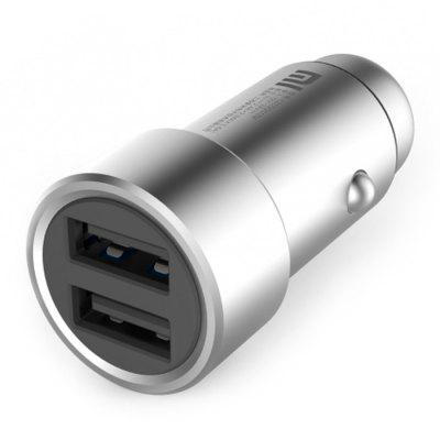 Original Xiaomi Fast Charging Car Charger Metal StyleCar Charger<br>Original Xiaomi Fast Charging Car Charger Metal Style<br><br>Brand: Xiaomi<br>Color: Silver<br>Input: DC 12 - 24V<br>Mainly Compatible with: iPhone 6S Plus, iPhone 5, Ipad Mini, iPhone 5C, iPhone 5S, Universal, iPad Air (iPad 5), iPhone 6, iPhone 6 Plus, Samsung S6, HTC One M9, iPhone 6S, Samsung Galaxy S6 Edge Plus, Samsung Note 5<br>Material: Metal<br>Output: DC 5V / 2.4A; 5V / 3.6A Max ( Total )<br>Package Contents: 1 x Original Xiaomi Car Charger<br>Package size (L x W x H): 11.00 x 6.00 x 4.00 cm / 4.33 x 2.36 x 1.57 inches<br>Package weight: 0.1400 kg<br>Product size (L x W x H): 6.00 x 2.10 x 2.20 cm / 2.36 x 0.83 x 0.87 inches<br>Product weight: 0.0370 kg<br>Type: Car Chargers