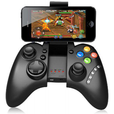 Gearbest IPEGA PG-9021 Classic Bluetooth Gamepad - BLACK V3.0 / 6 - 8m Wireless Range Game Controller for Android / iOS