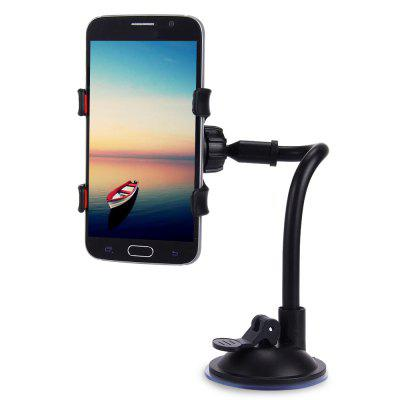 Long Arm Car Windscreen Cellphone HolderStands &amp; Holders<br>Long Arm Car Windscreen Cellphone Holder<br><br>Color: Black<br>Material: Plastic<br>Package Contents: 1 x 360 Degrees Rotation Car Windshield Holder, 1x Sucker with Long Arm<br>Package size (L x W x H): 12.00 x 9.50 x 6.50 cm / 4.72 x 3.74 x 2.56 inches<br>Package weight: 0.131 kg<br>Product weight: 0.082 kg<br>Type: Organizer And Holders