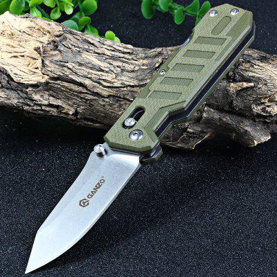 Ganzo G735-GR Multi-function Axis Lock Pocket Knife