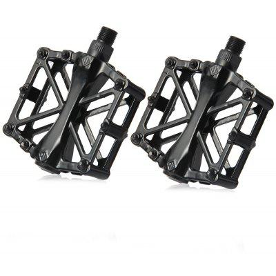 1 Pair Aluminum Alloy MTB BMX Fixed Gear Pedals for Bicycle Cycling