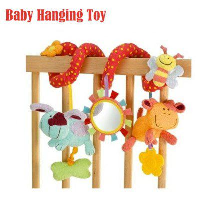 ELC Animal Bed Hanging Hand Bell Ring Rattle Crib Toy for Baby Gift