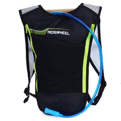 ROSWHEEL Bike Hydration Backpack with Water BladderBackpacks<br>ROSWHEEL Bike Hydration Backpack with Water Bladder<br><br>Bag Capacity: 5L<br>Capacity: 1 - 10L<br>Color: Black<br>Features: Ultra Light<br>For: Traveling, Adventure, Hiking, Camping, Cycling, Fishing, Climbing<br>Material: Nylon, PVEA<br>Package Contents: 1 x ROSWHEEL 5L Bike Hydration Backpack Ultralight Multi-functional Bicycle Bag with 2L Water Bladder<br>Package size (L x W x H): 33.05 x 47.04 x 6.06 cm / 12.99 x 18.49 x 2.38 inches<br>Package weight: 0.328 kg<br>Product size (L x W x H): 33.00 x 47.00 x 6.00 cm / 12.97 x 18.47 x 2.36 inches<br>Product weight: 0.168 kg