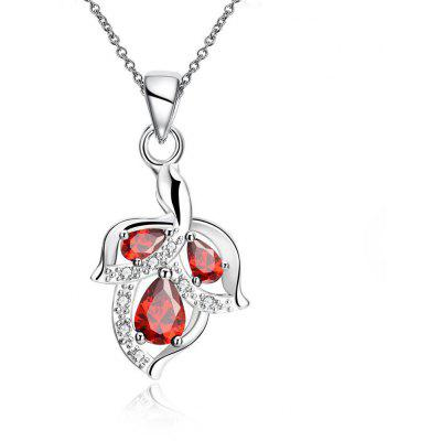 N112-B 925 Silver Plated Necklace Brand New Design Pendant Necklaces Jewelry for Women