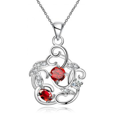 N127 - B 925 Silver Plated Pendant Necklaces Jewelry for Women