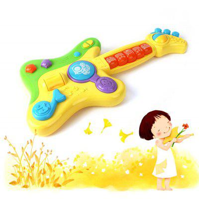 Educational RENDA Simulation 800632 Guitar Kid Musical Toy for Improving Children Comprehension Skill