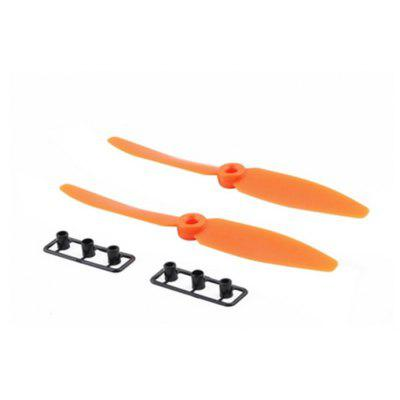 Buy Spare 5040B Propeller Set Fitting for QAV250 Racer250 H250 H280 Multi-rotor Quadcopter ORANGE for $1.75 in GearBest store