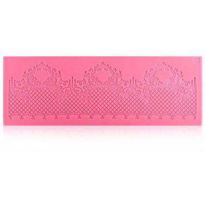 Lace Shaped Silicone Cake Mold Cupcake chocolate Mat Decoration Tool