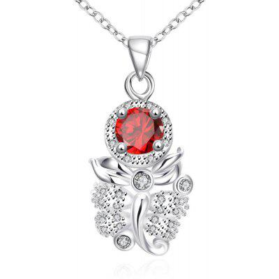 N122-B 925 Silver Plated Necklace Brand New Design Pendant Necklaces Jewelry for Women