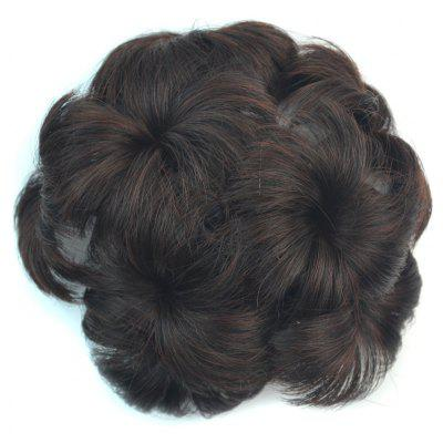 Fluffy Short Synthetic Hair Sweet Flower-Shaped Chignon with Comb For Women