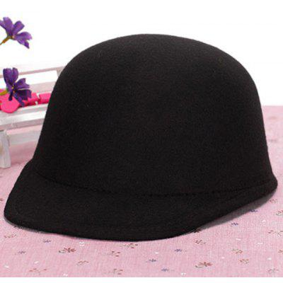 Chic Candy Color Felt Horseman Hat For Women