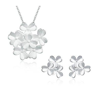 CS796  Bridal Party Necklace Earrings Jewelry Sets