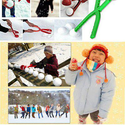 Plastic Snowball Maker Snow Ball Scoop Winter Games Toy