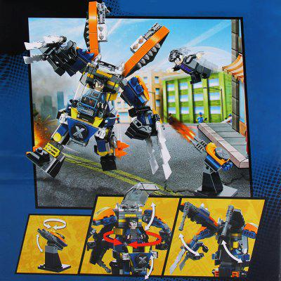 SY362B Heroes Assemble Wolverine 3D Puzzle IQ Training Safe Game 278+ PcsModel &amp; Building Toys<br>SY362B Heroes Assemble Wolverine 3D Puzzle IQ Training Safe Game 278+ Pcs<br><br>Age: 6 Years+<br>Applicable gender: Unisex<br>Design Style: Cartoon<br>Features: Movie and TV<br>Material: Plastic<br>Package Contents: 1 x Building Block Set, 1 x English Manual<br>Package size (L x W x H): 29 x 7 x 22 cm / 11.40 x 2.75 x 8.65 inches<br>Package weight: 0.41 kg<br>Product Model: SY362B<br>Puzzle Style: 3D Puzzle<br>Small Parts: Yes<br>Type: Building Blocks<br>Washing: Yes