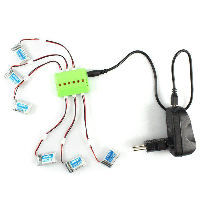 KH20 - 005 6 in 1 Balance Charger 6Pcs 3.7V 150mAh 30C Battery Set for Remote Control JJRC H20 Hexacopter