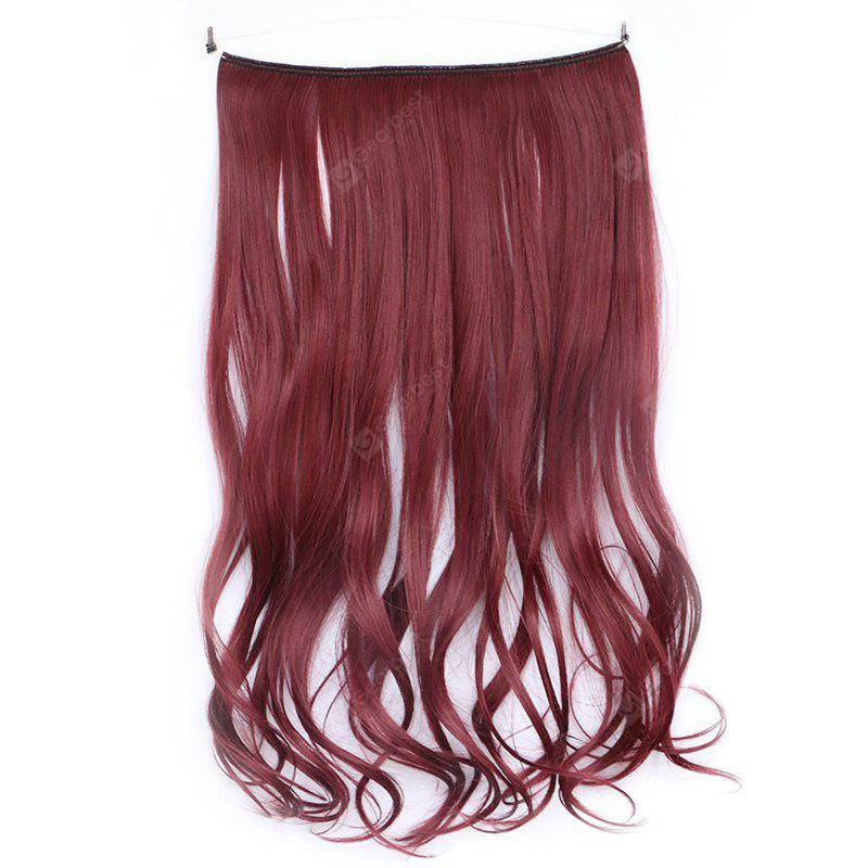 Assorted Color Long Capless Gorgeous Fluffy Curly Synthetic Hair