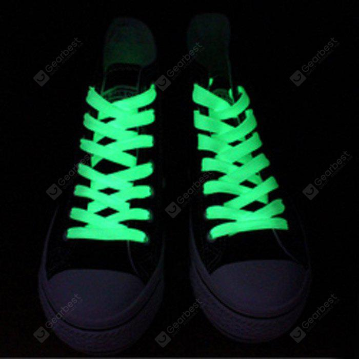 Creative LED Fluorescent Shoelaces, Green