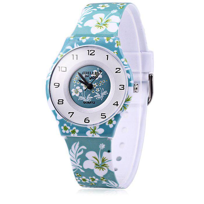 Willis Colorful Strap Female Quartz Watch