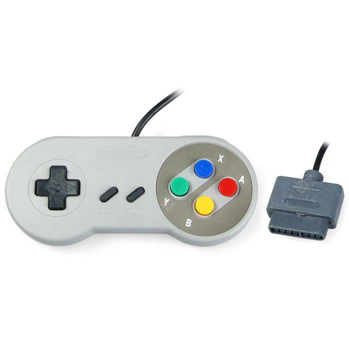 Classic Gamepad Mainframe Interface SNES DEEP GRAY