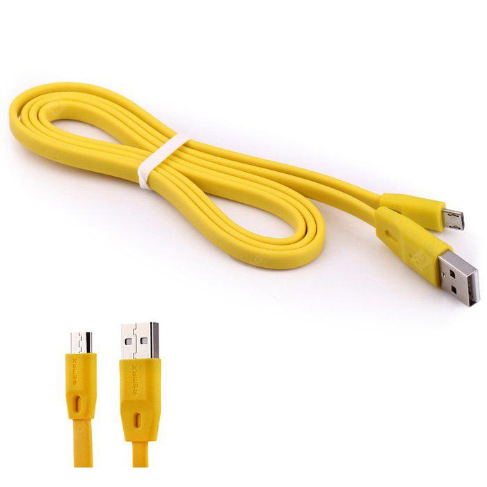 Original REMAX Full Speed Micro USB Charge Sync Cable Flat Design - 100cm