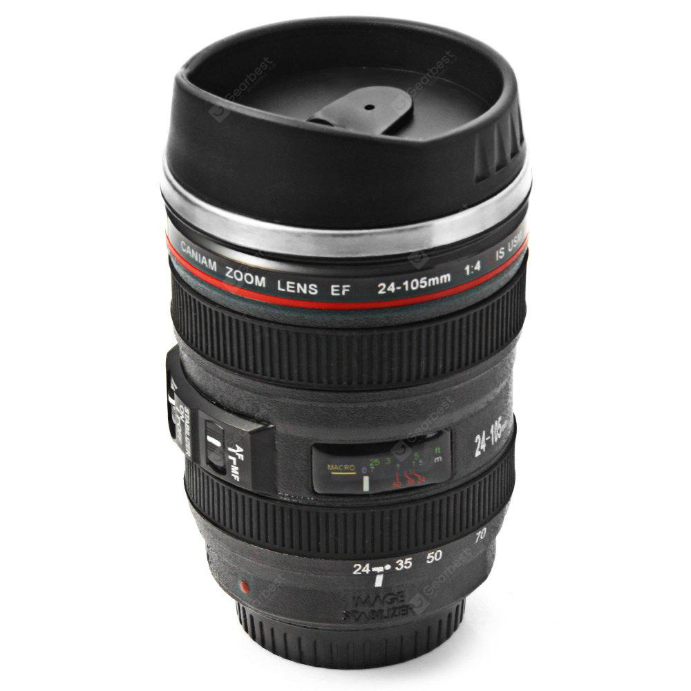 Camera Lens Stainless Steel Cup