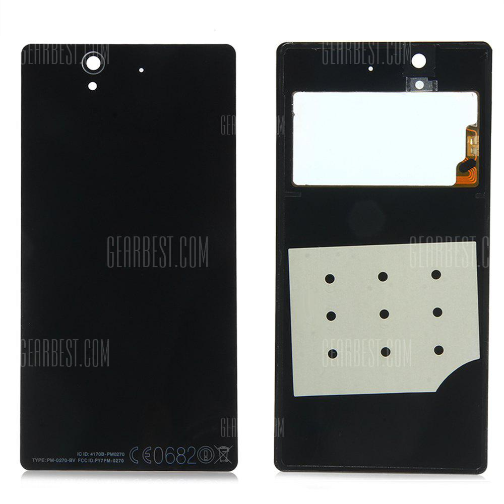 BLACK Battery Door Back Cover with NFC