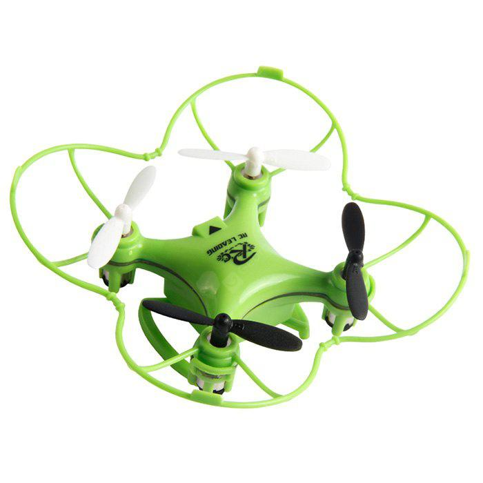 RC LEADING Mini RC101 2.4G 4CH 6 Axis Gyro Quadcopter 3D Rolling