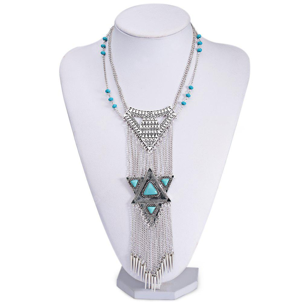 Egypt Exaggerated National Bohemia Old Classical Ladies Necklace