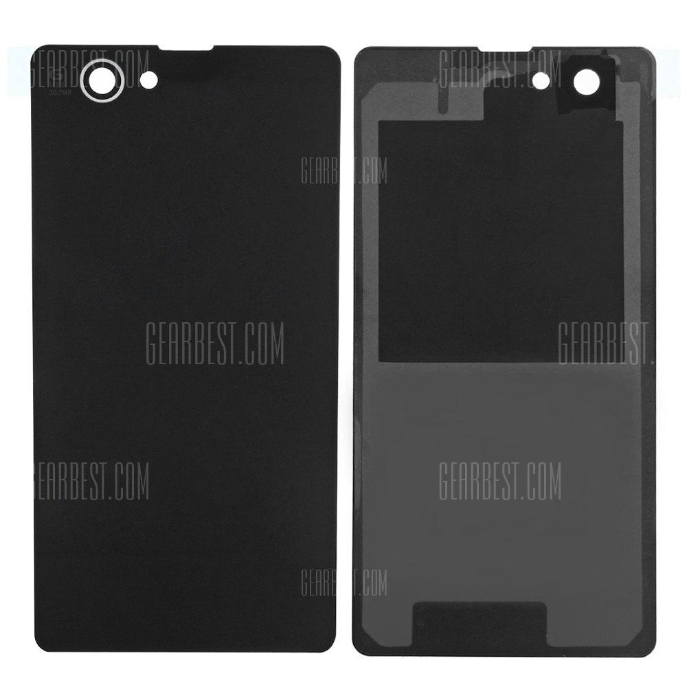 BLACK Battery Back Cover for Sony Xperia Z1 Mini