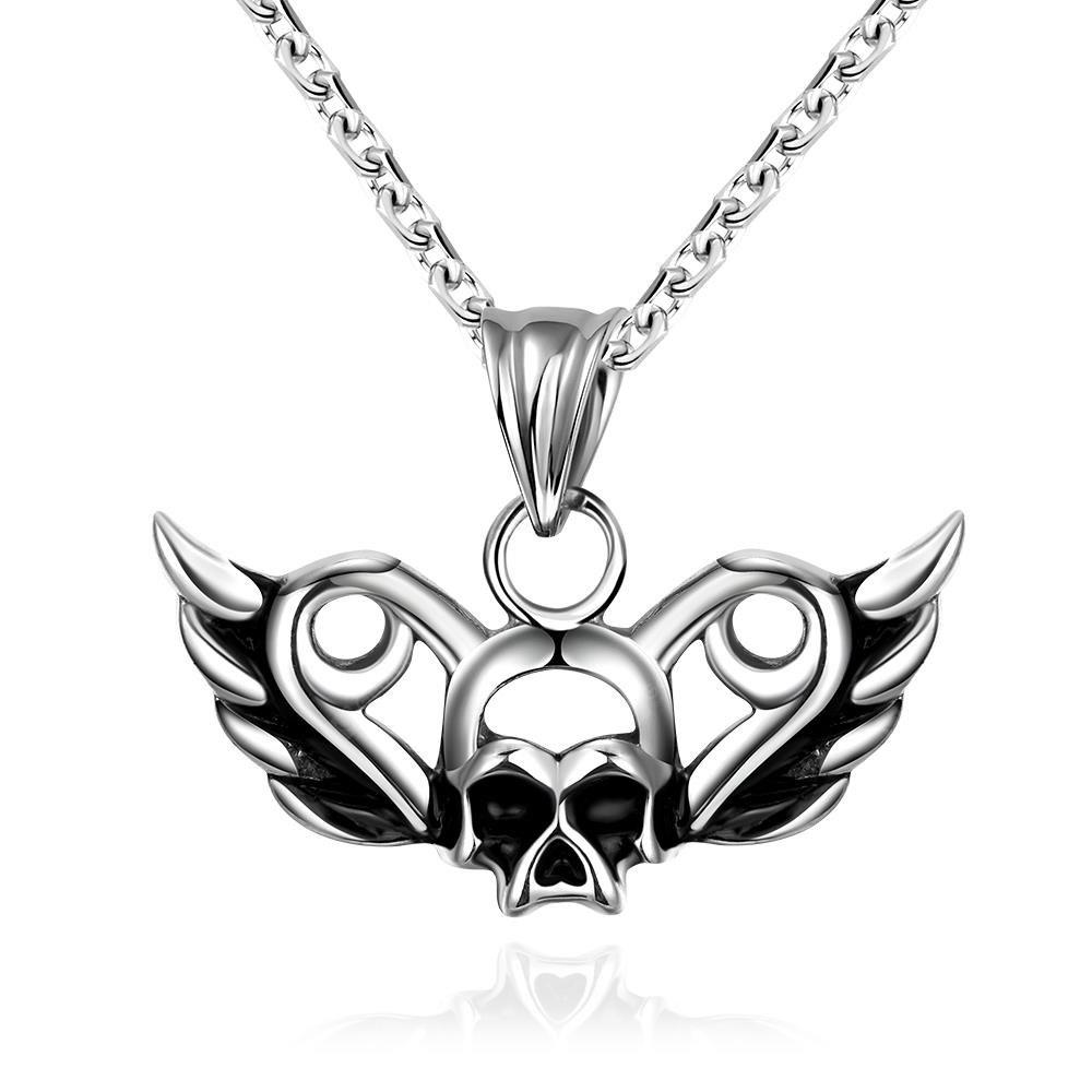 N008 316L Stainless Steel Vintage Pendant Necklace