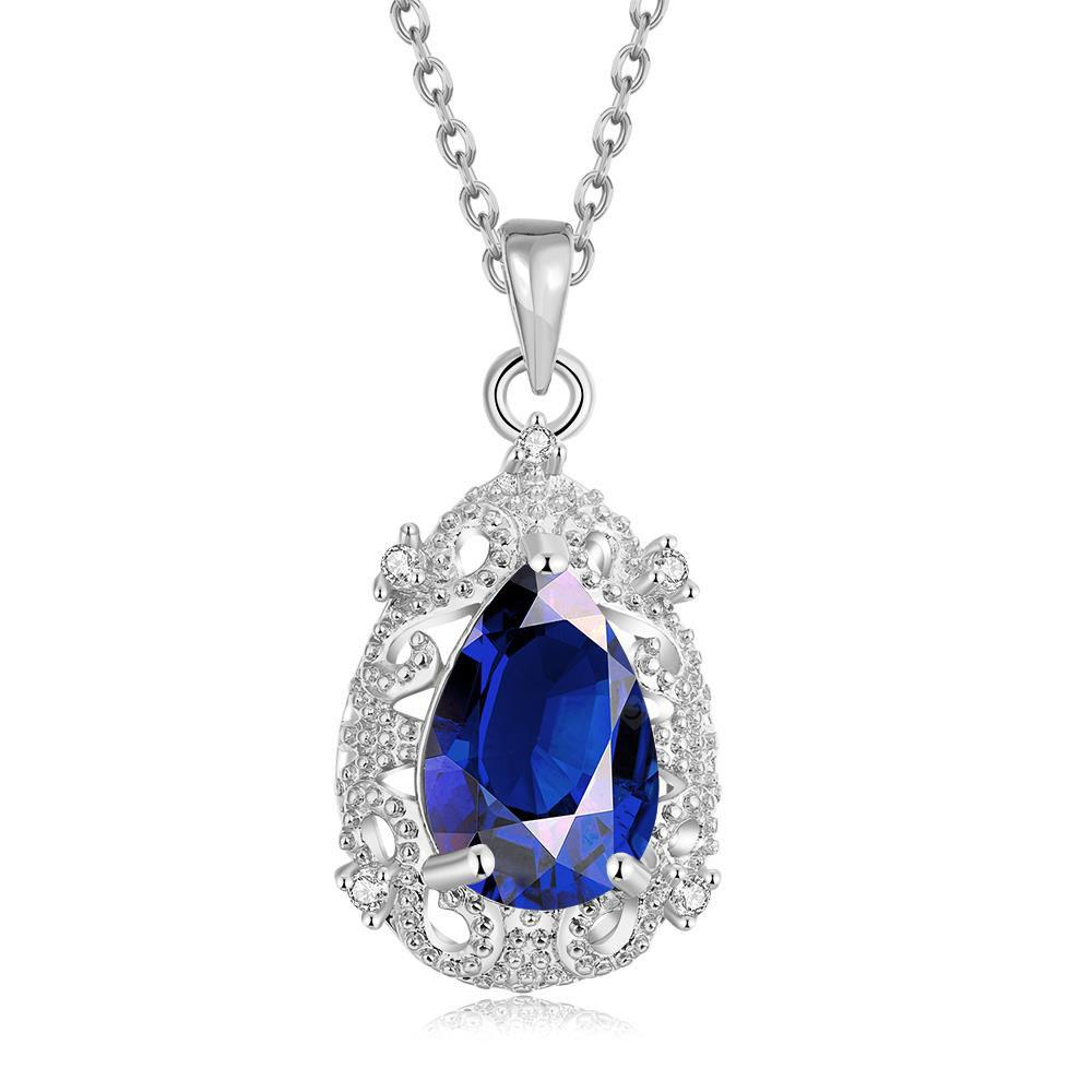 N108-C Zircon Necklace Fashion Jewelry 18K Gold Plating Necklace