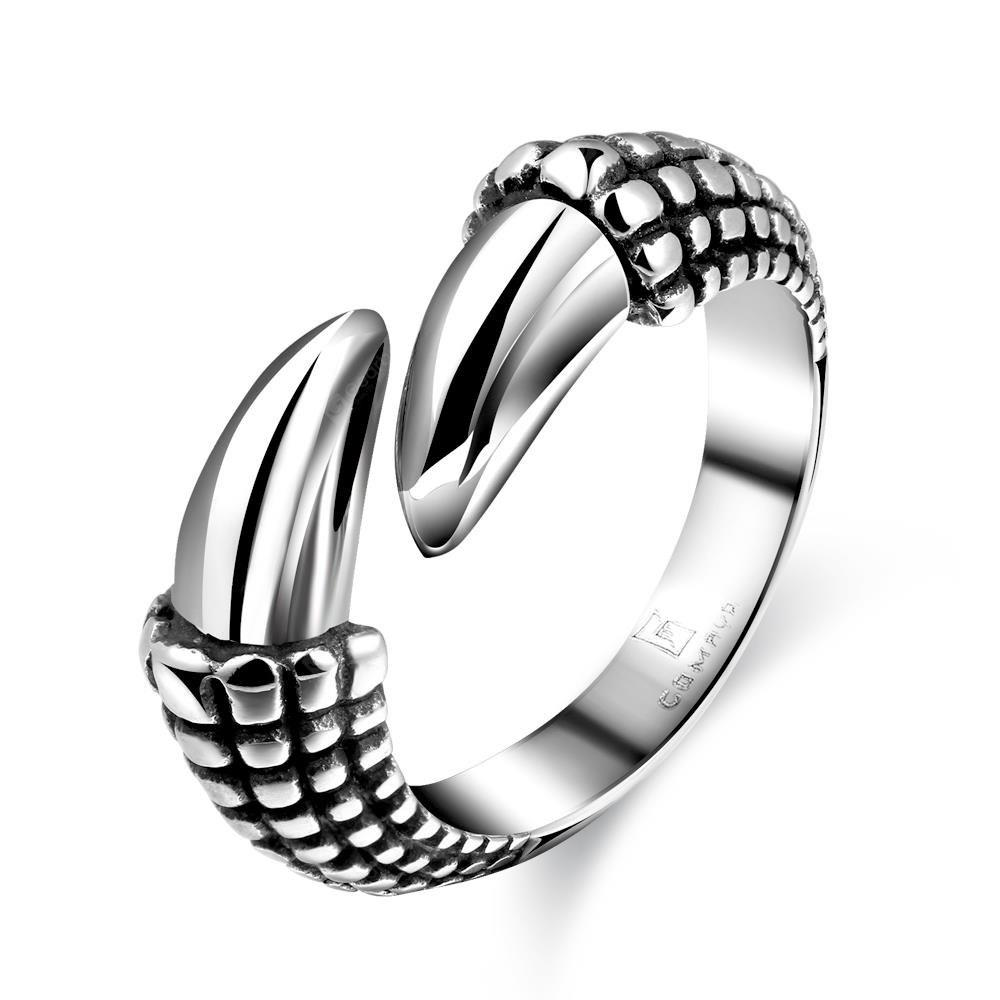 SILVER 9 R177 Stylish Various Styles 316L Stainless Steel Punk Ring