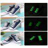Creative LED Fluorescent Shoelaces - GREEN