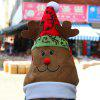 Lovely Elk Design Christmas Hat - AS THE PICTURE