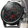 Weesky 1211 Men Quartz Watch - BLACK