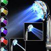 7 Colors LED Light Shower Head - SILVER