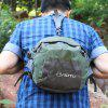 8L AOTU Waist Bag Water Resistant Nylon Made - ARMY GREEN