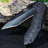 Sanrenmu 7030 LTI-PH Liner Lock Folding Knife - BLACK