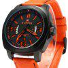 NAVIFORCE 9062 Men Leather Quartz Watch deal