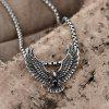 N054 Titanium Fashion Chain 316L Stainless Steel Vintage Pendant Necklace - SILVER GRAY