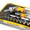 RT-1656 56 in 1 Ratchet Screwdriver Set - BLACK