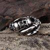 R178 Cool Fashion 316L Stainless Steel Ring - SILVER GRAY