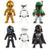 Popular Movie Soldiers Figure Model with Light 6Pcs / Set