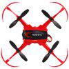 Floureon H101 2.4GHz RC Quadcopter - RED