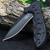 Sanrenmu 7034 LUI-PH Liner Lock Folding Knife BLACK