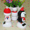 Solar Shaking Snowman Environment-friendly Ornamentation photo